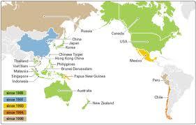 Mapa da APEC