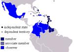 Mapa Caricom
