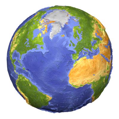 Terra em 3D